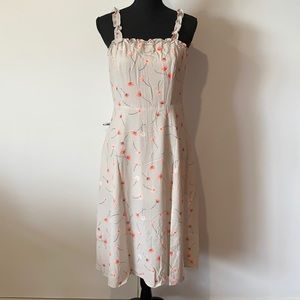 Brand New with Tag Womens Lyon Floral Midi Dress Polyester AU 12